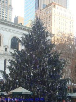Tree at Bryant Park