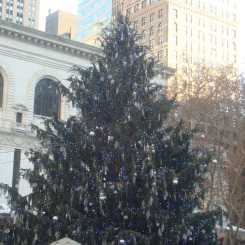Tree at Bryant Park