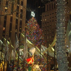 The Rockefeller Tree, even better by night