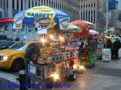 Sabrett's hotdogs - a kerbside NYC staple