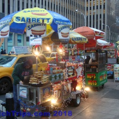 Sabrett's hotdogs - a kerbside NYC staple